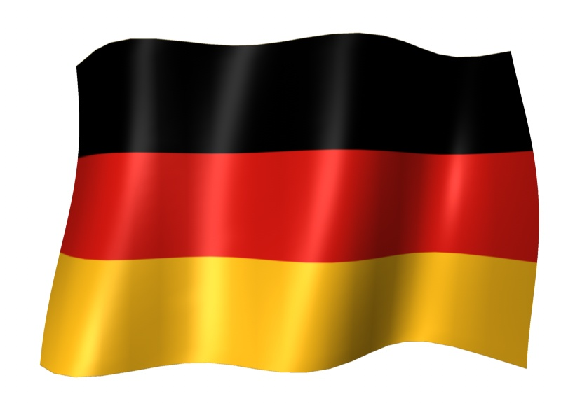 German Flag Wavy-1